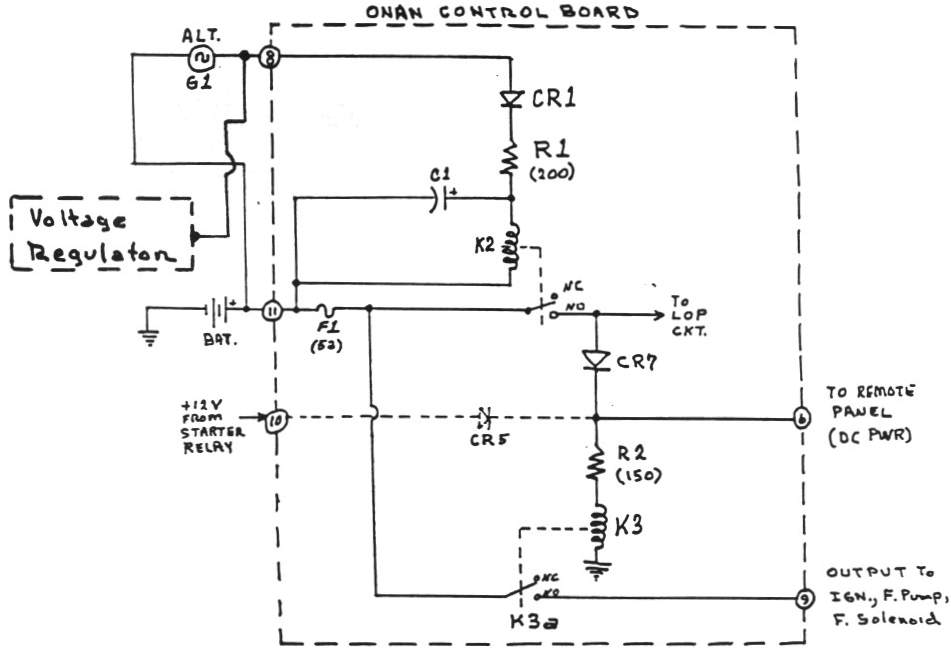 [SCHEMATICS_4LK]  Onan Control Board Operation | Onan Small Engine Wiring Diagram |  | GMC Western States Motorhome Club
