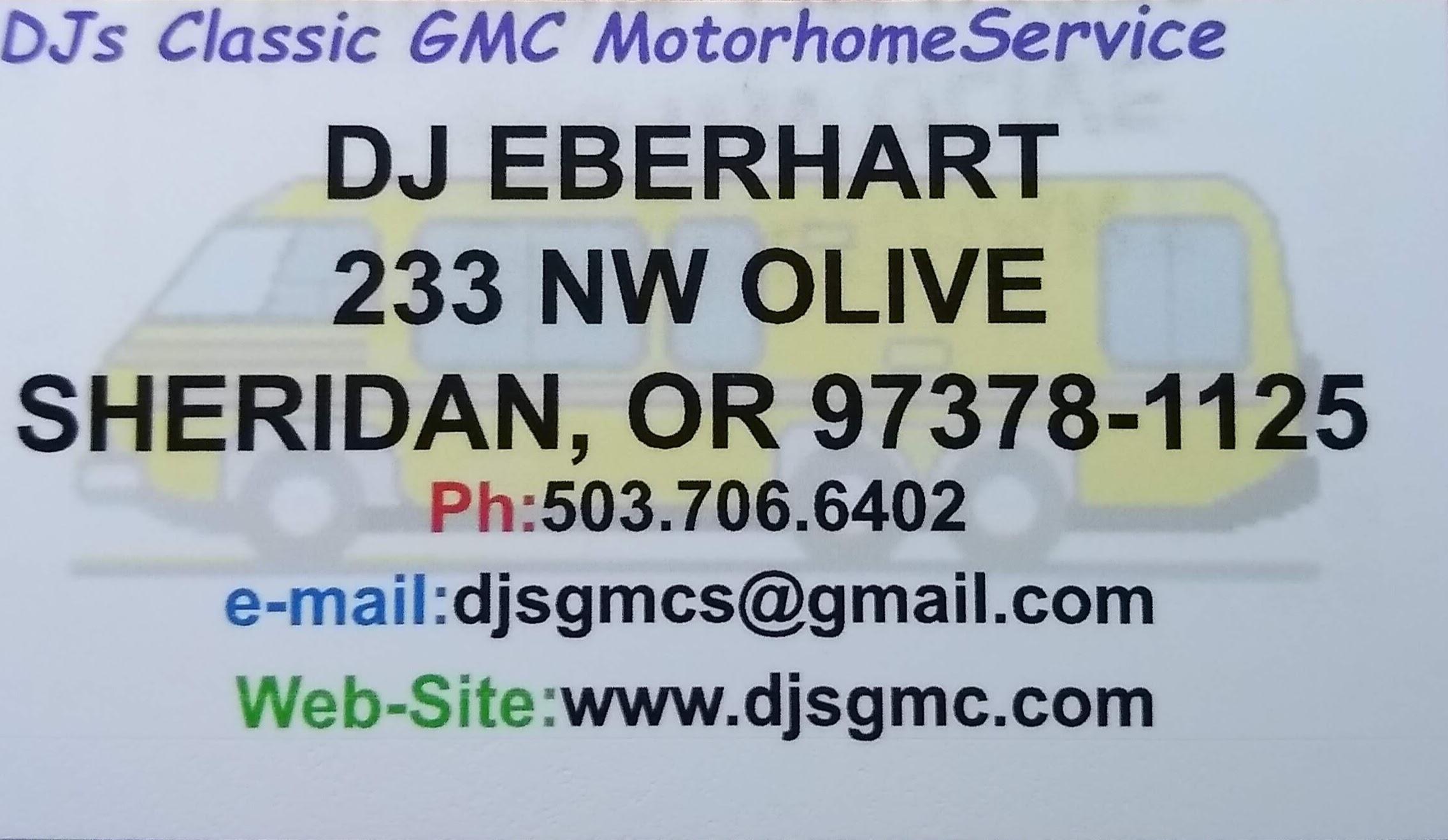 DJs-Classic-GMC-Motorhome-Service