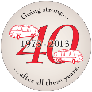GMC 40th Anniversary Coos Bay Graphic